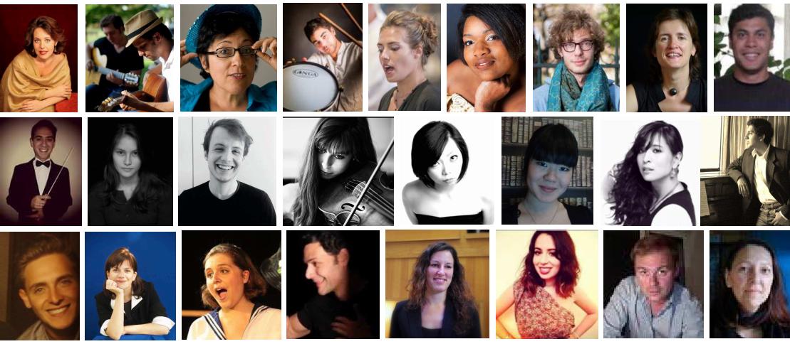 Professeurs de musique TEMPO grandir en musique chorale en entreprise chorale à l'école musique à l'école éveil musical crèche