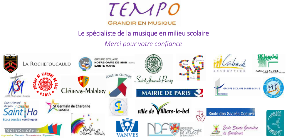 TEMPO references musique scolaire eveil musical maternelle projet musique ecole primaire